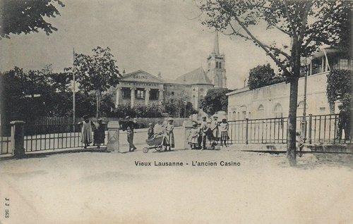 Lausanne l'ancien Casino à Saint François
