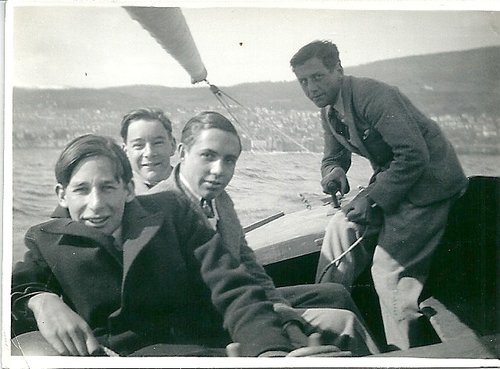 En vogue sur le lac de Neuchâtel, 1968