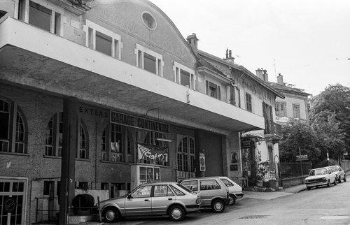 Genève, le Garage Continental