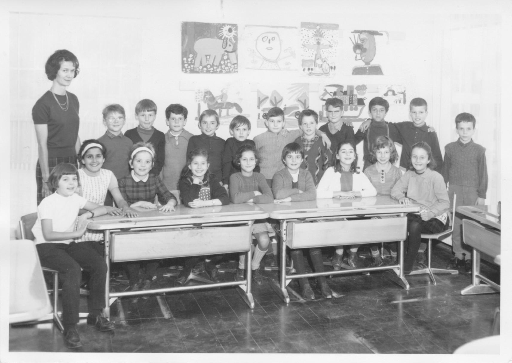 Ecole de la Blécherette 1964