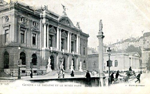 Genève, le Grand-Théâtre, hier-aujourd'hui