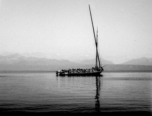 Barque de Meillerie à 1 mât