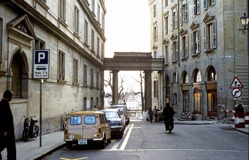 Genève, rue Henri Fazy