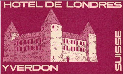 Hôtel de Londres Yverdon