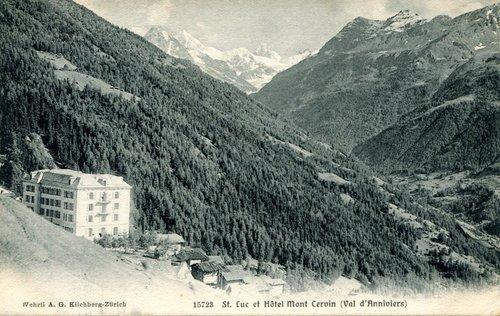 St-Luc, Hôtel du Cervin