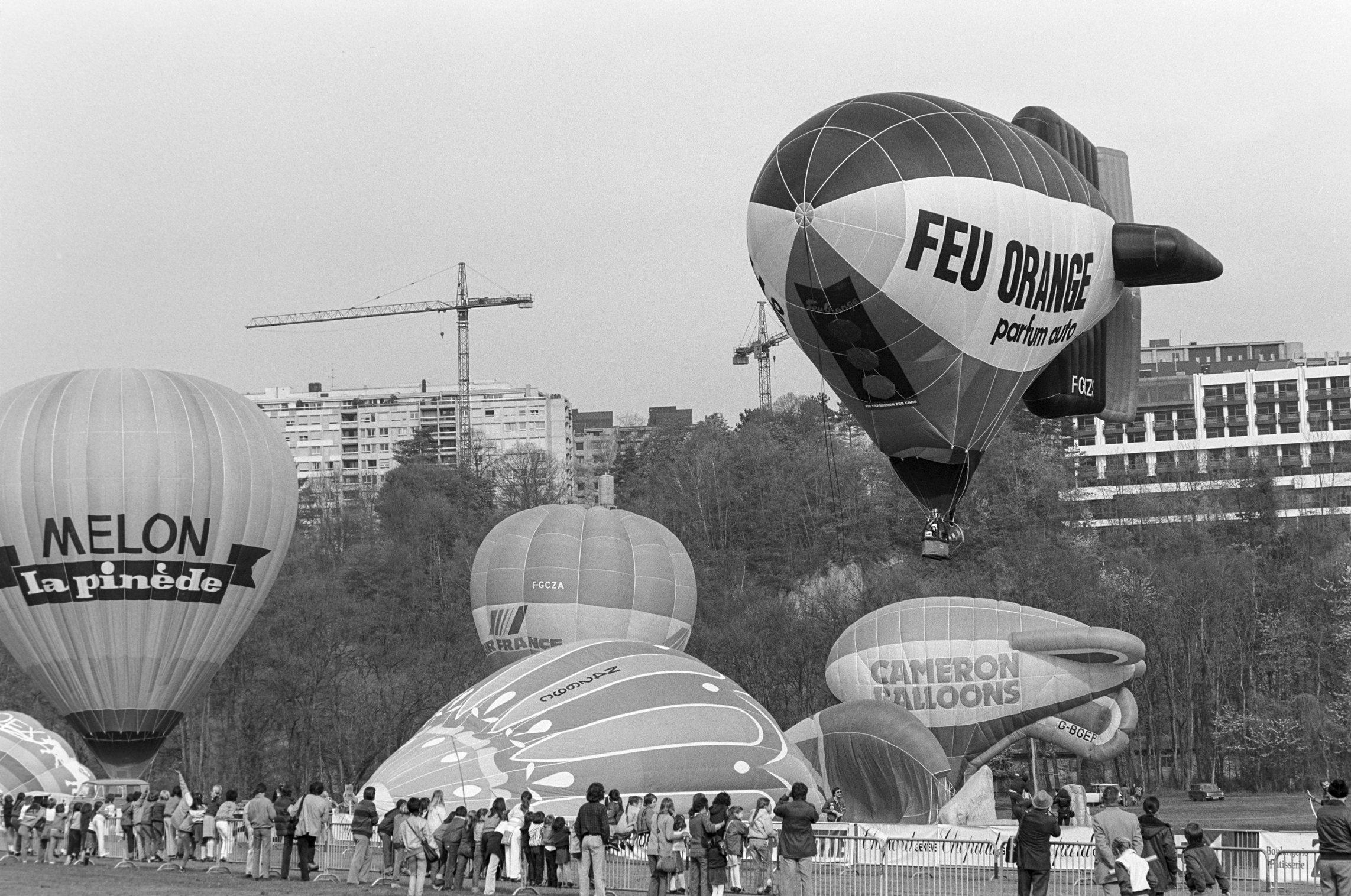 Genève, fête aérienne à Vessy