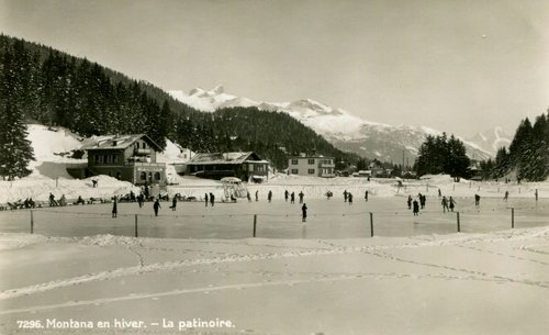 Montana, l'ancienne patinoire