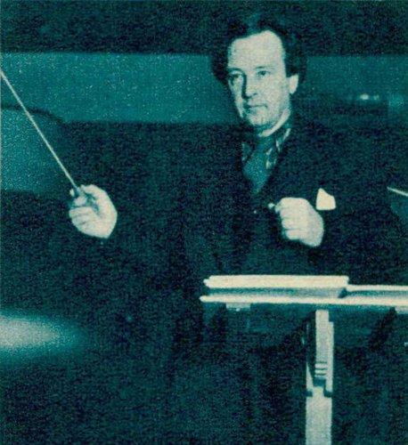 Arthur HONEGGER lors d'un de ses derniers passages à Genève