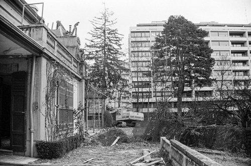 Genève, démolition à Florissant