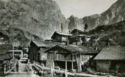 Le vieux village de Loèche-les-bains