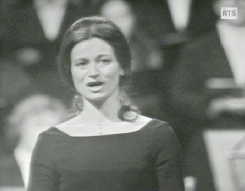 Nicole ROSSIER, «Magnificat de Bach - Michel Corboz», 2 mars 1973, Cathédrale de Genève