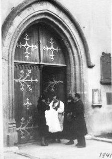 Baptême en 1941
