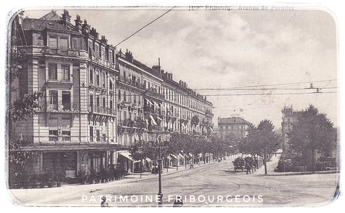 Fribourg - Avenue de Pérolles