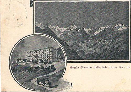 St Luc-Hôtel Bella-Tola
