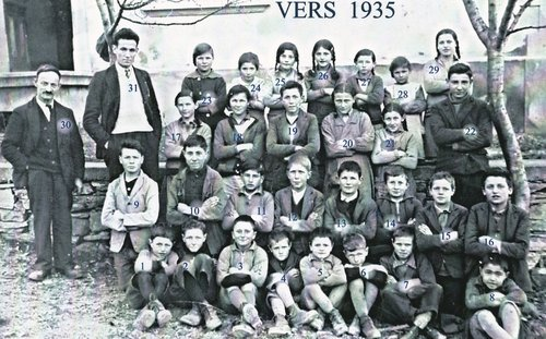 Ecole de Chandolin vers 1935 bis