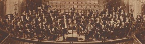 Visages de l'OSR - L'orchestre en 1936, avec Adolphe