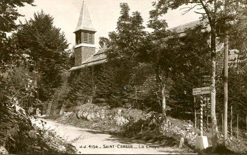 St-Cergue, l'ancienne chapelle catholique