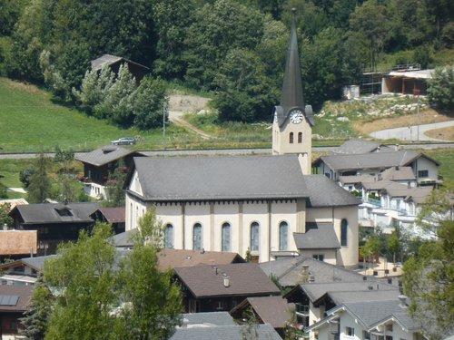 L'église de Fiesch en Valais