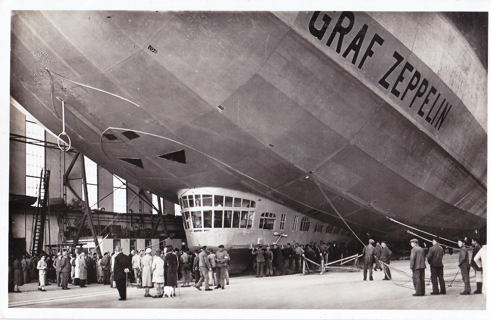 Visite du Zeppelin