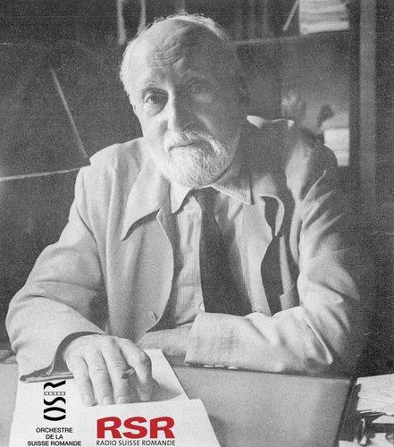 Georges BIZET, Suite de l'Arlésienne, OSR, Ernest ANSERMET, 3 novembre 1962