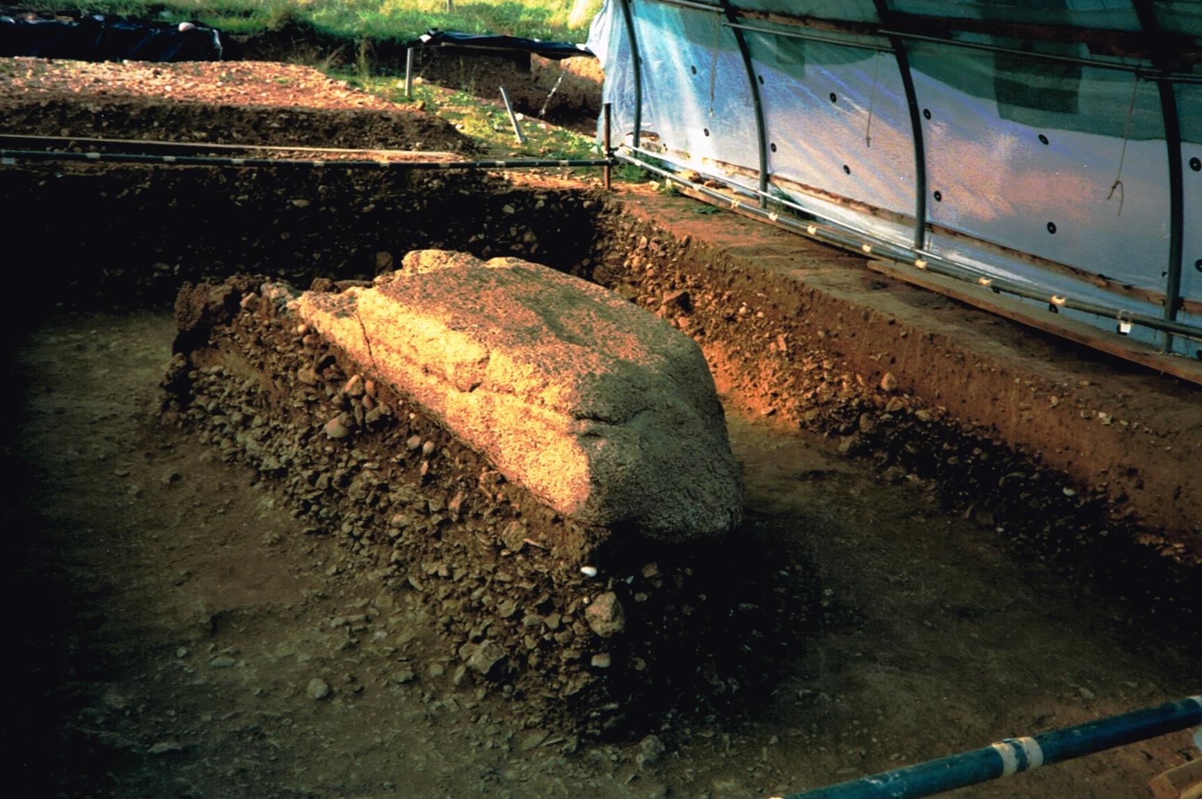 Menhir découvert à Vaumarcus_749