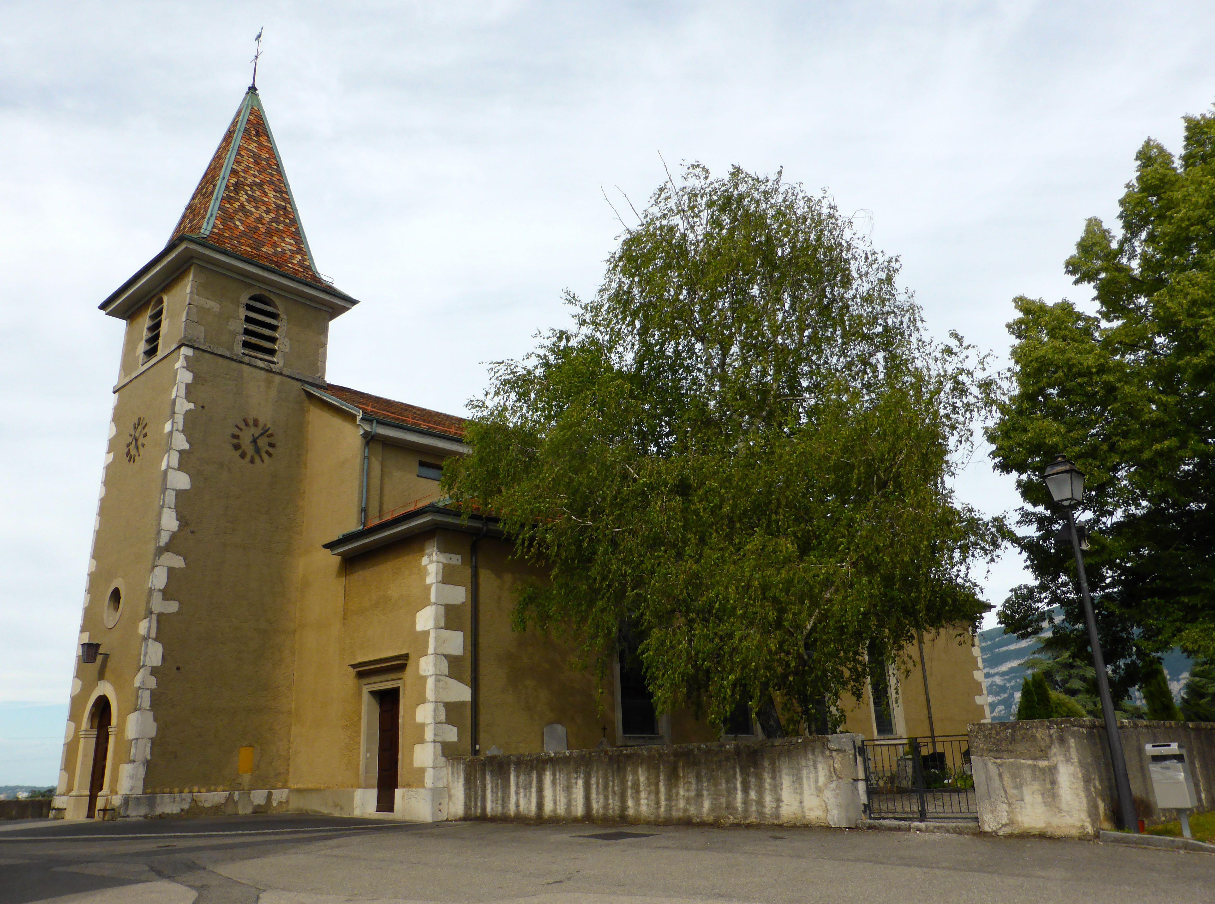 Compesières, l'église et la Commanderie