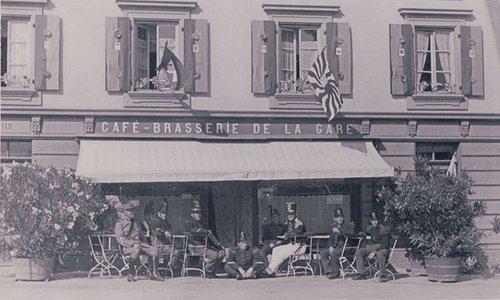 Aubonne café-brasserie de la gare