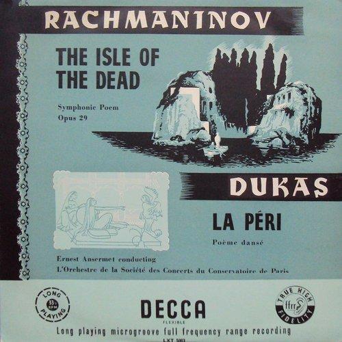 Paul DUKAS, La Péri, Orchestre de la Société des Concerts du Conservatoire, Ernest ANSERMET, 20 septembre 1954