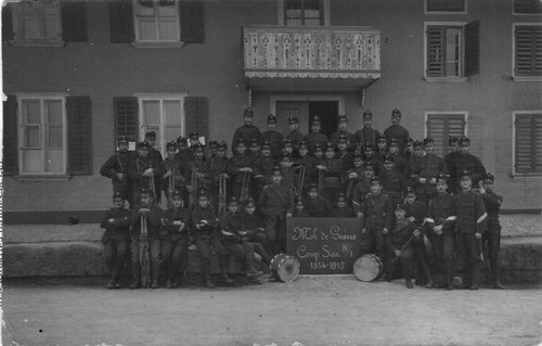 Mobilisation 1914-1918