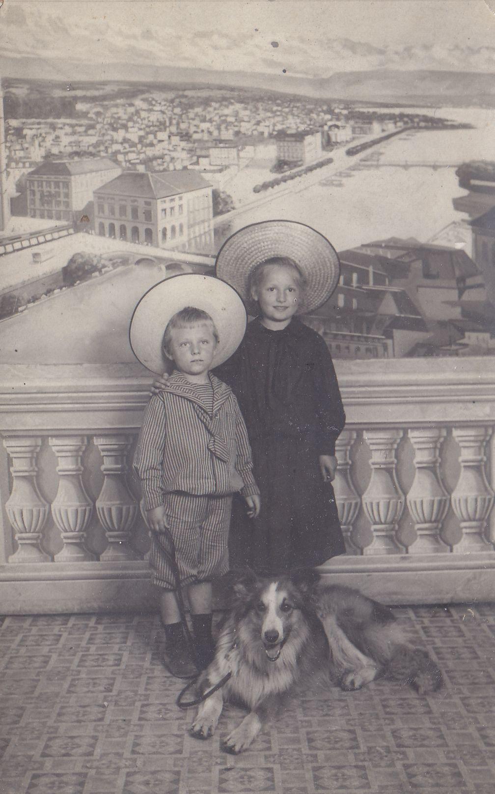 Enfants du début du XXème