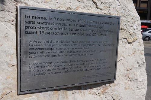 Monument aux victimes du 9 novembre 1932