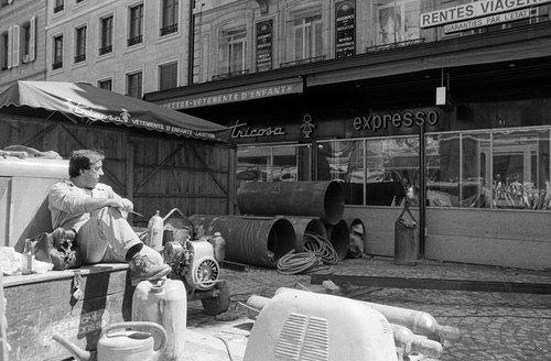 Genève, pause déjeuner au Molard
