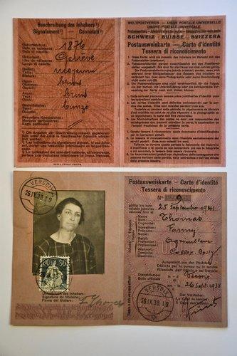 Carte d'identité de Fanny Thomas