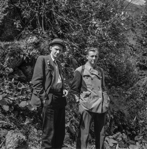 Portrait de Pierre et Jacques