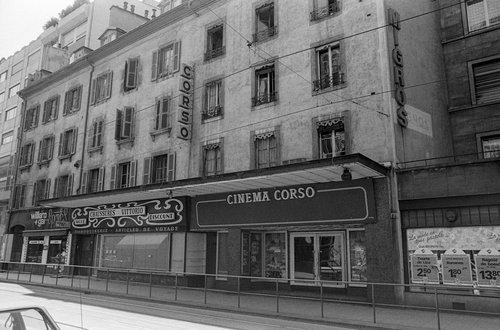 Genève, le Cinéma Corso
