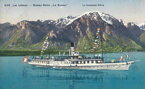 Bateau-Salon «La Suisse» II