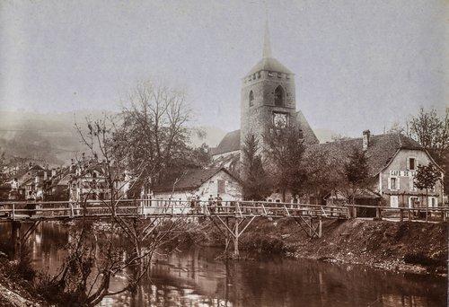Eglise St Etienne  de Moudon