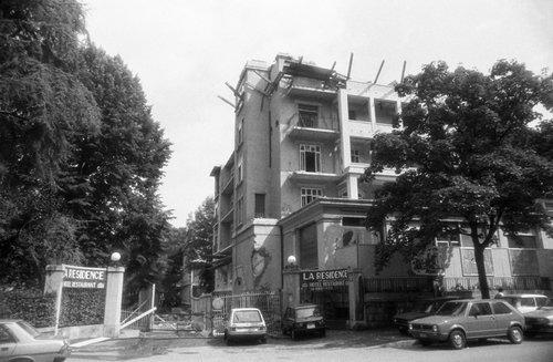 Genève, Hôtel la Résidence. On démolit!