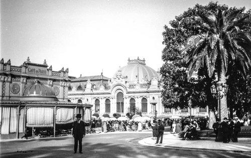 Le Café de Paris à Monte Carlo