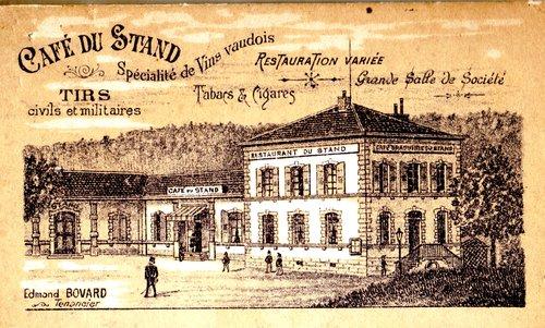 Lausanne, Pontaise, café restaurant du Stand