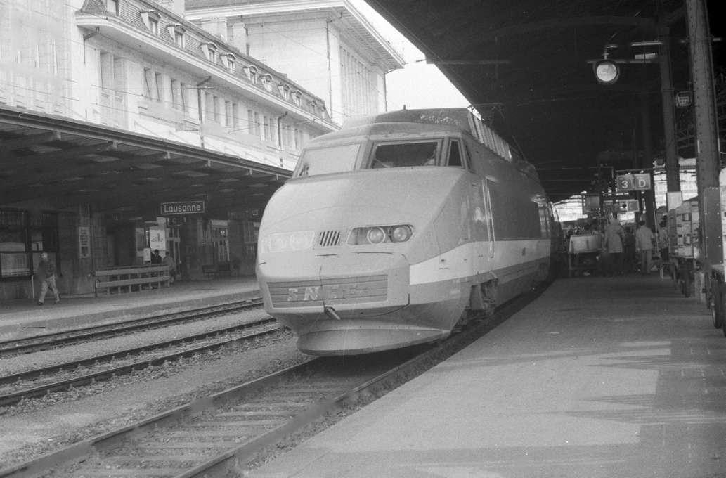 Gare de Lausanne - TGV