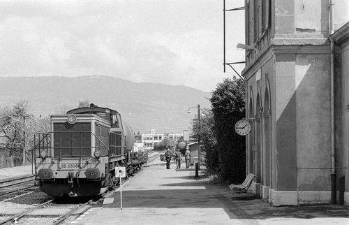 Gare de Chêne-Bourg