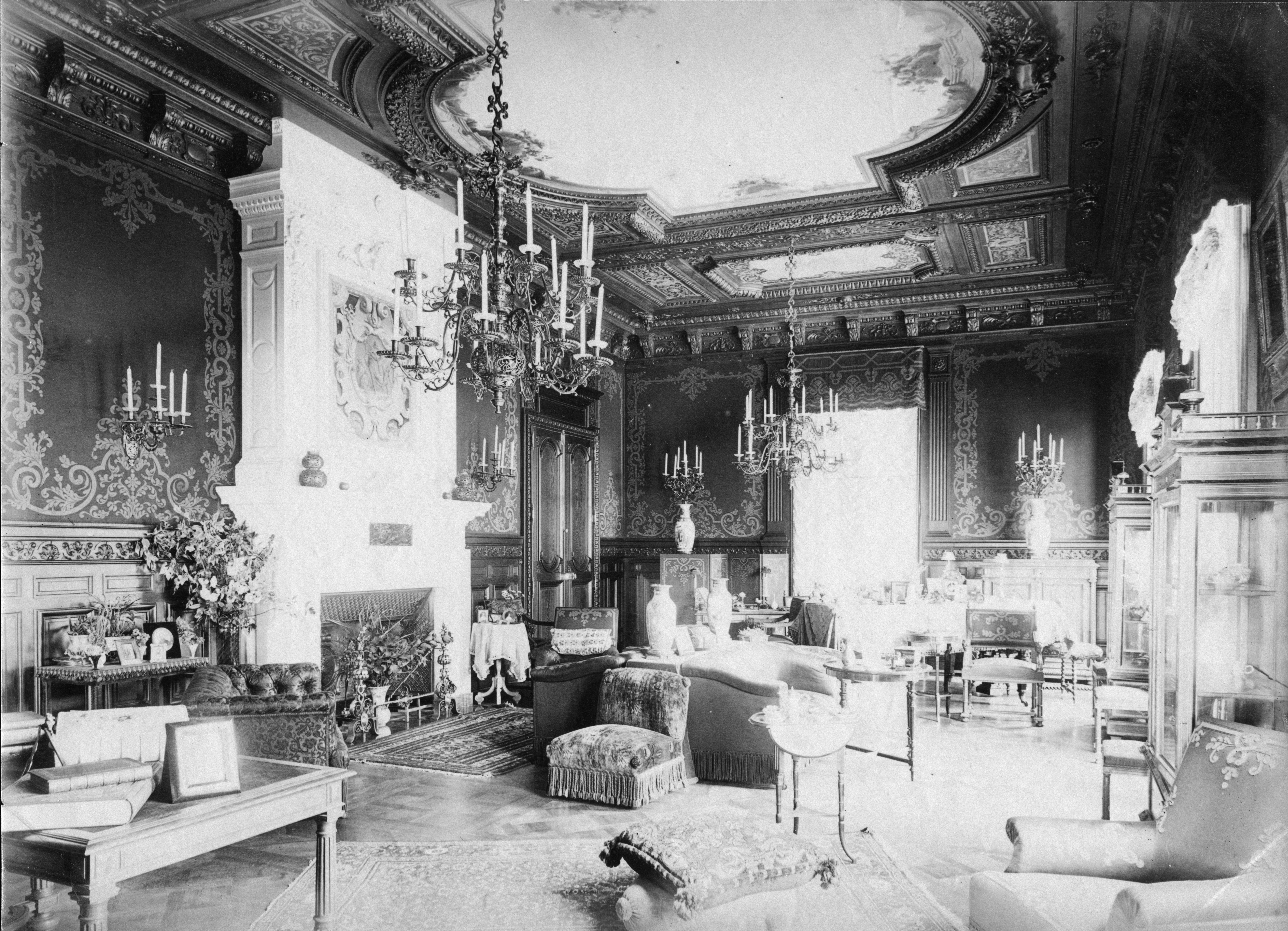 La Tour-de-Peilz - Château de Sully - Grand salon