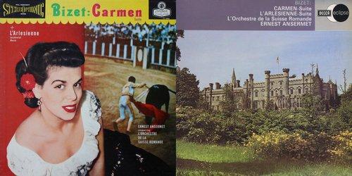 Georges BIZET, Suites No 1 et No 2 de l'Arlésienne, OSR, Ernest ANSERMET