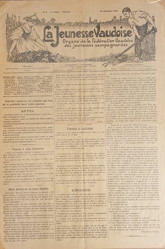 """""""La Jeunesse Vaudoise"""""""