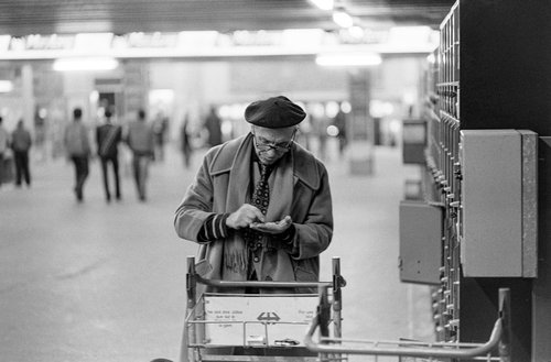 Genève, les consignes de la Gare Cornavin