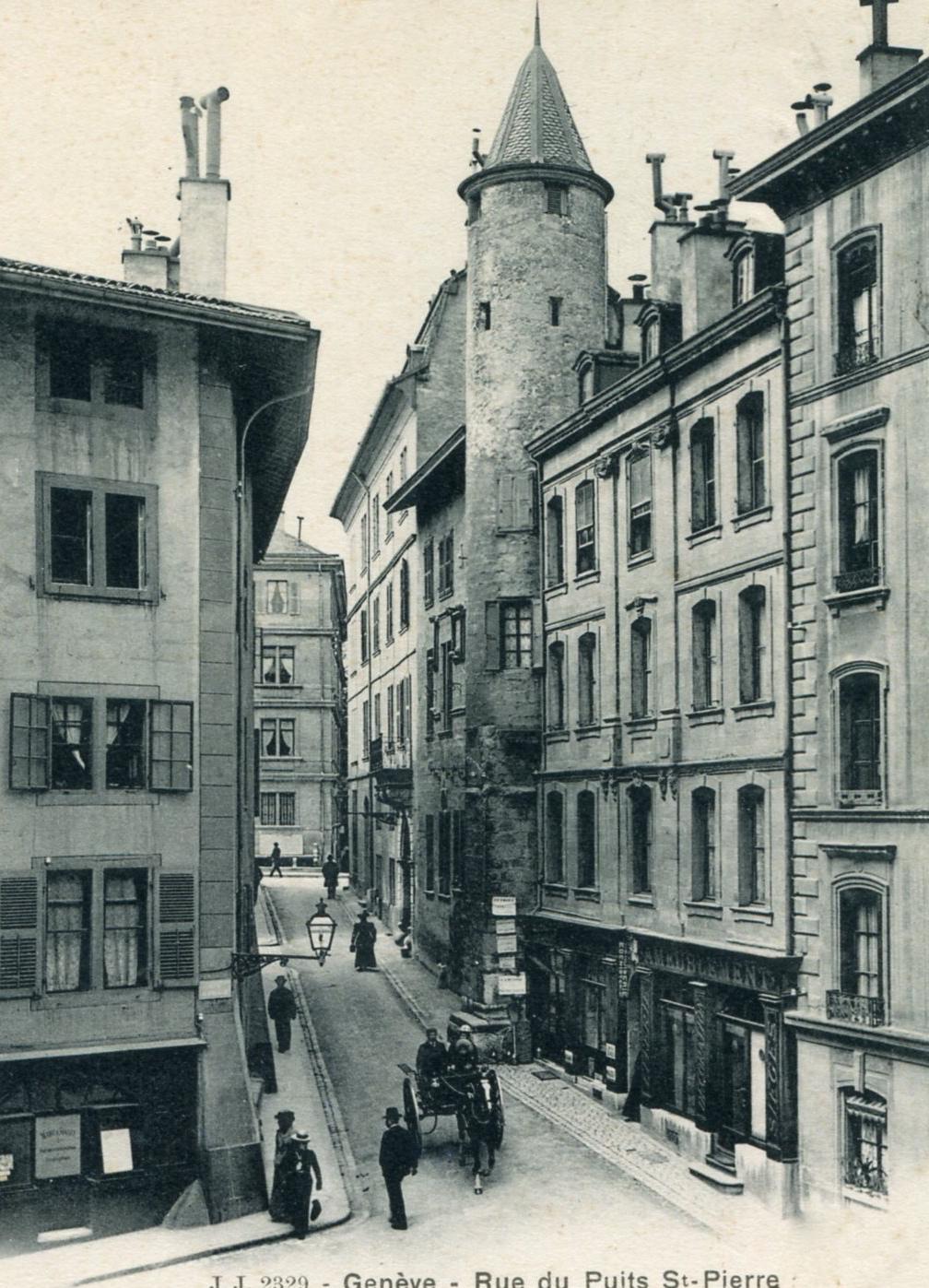 Genève, la Maison Tavel