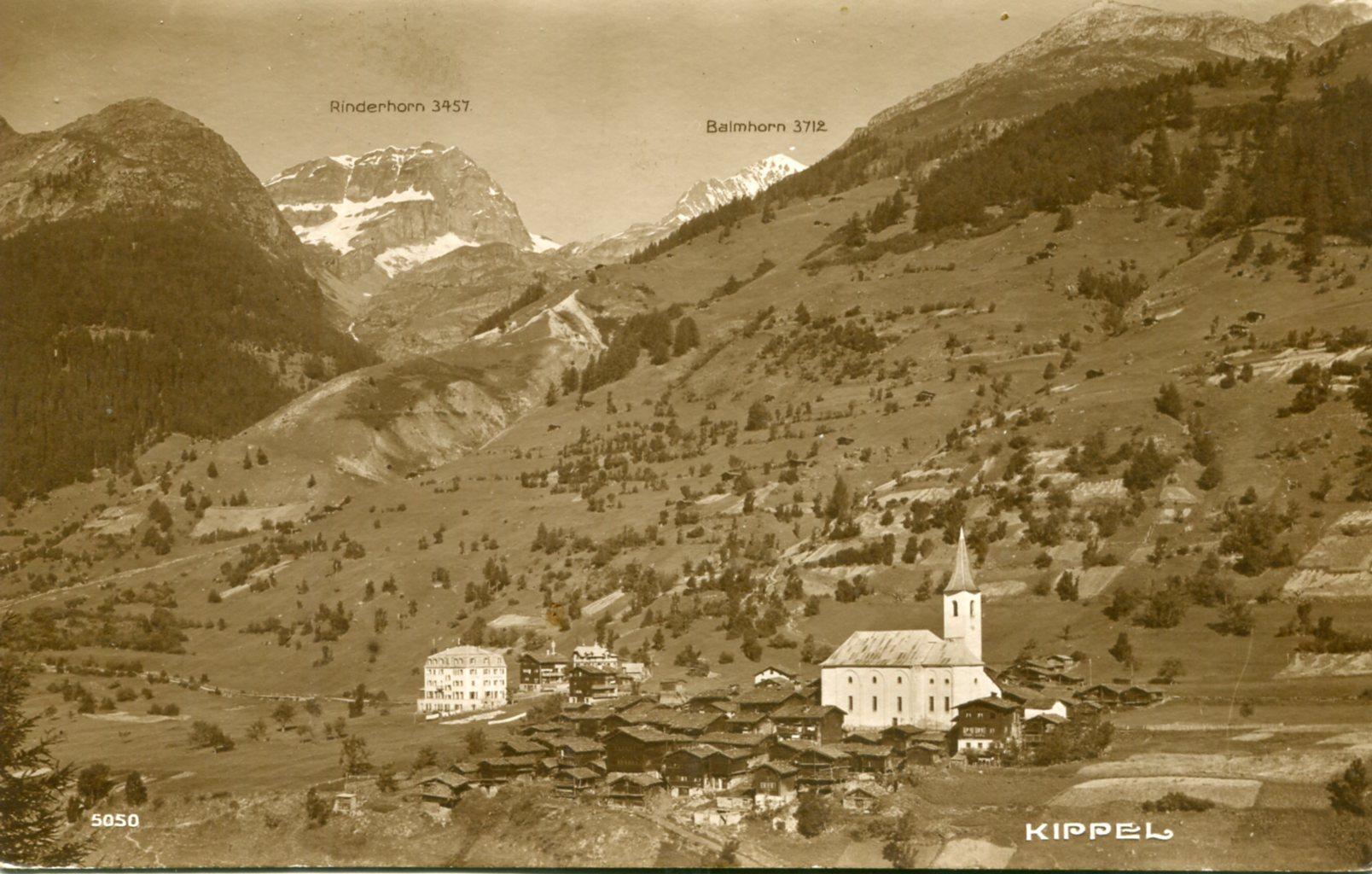 Le village de Kippel