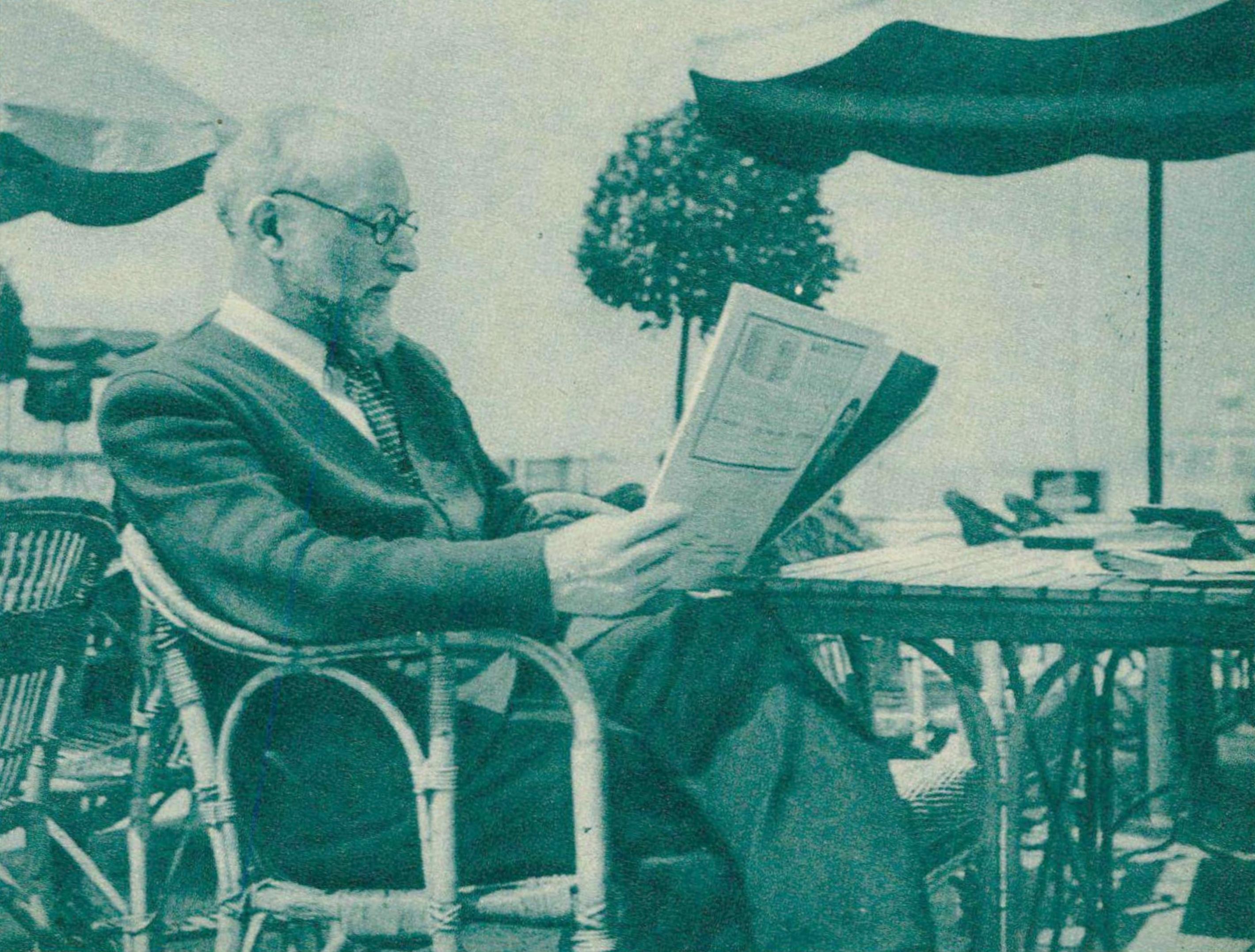 Ernest ANSERMET en 1939