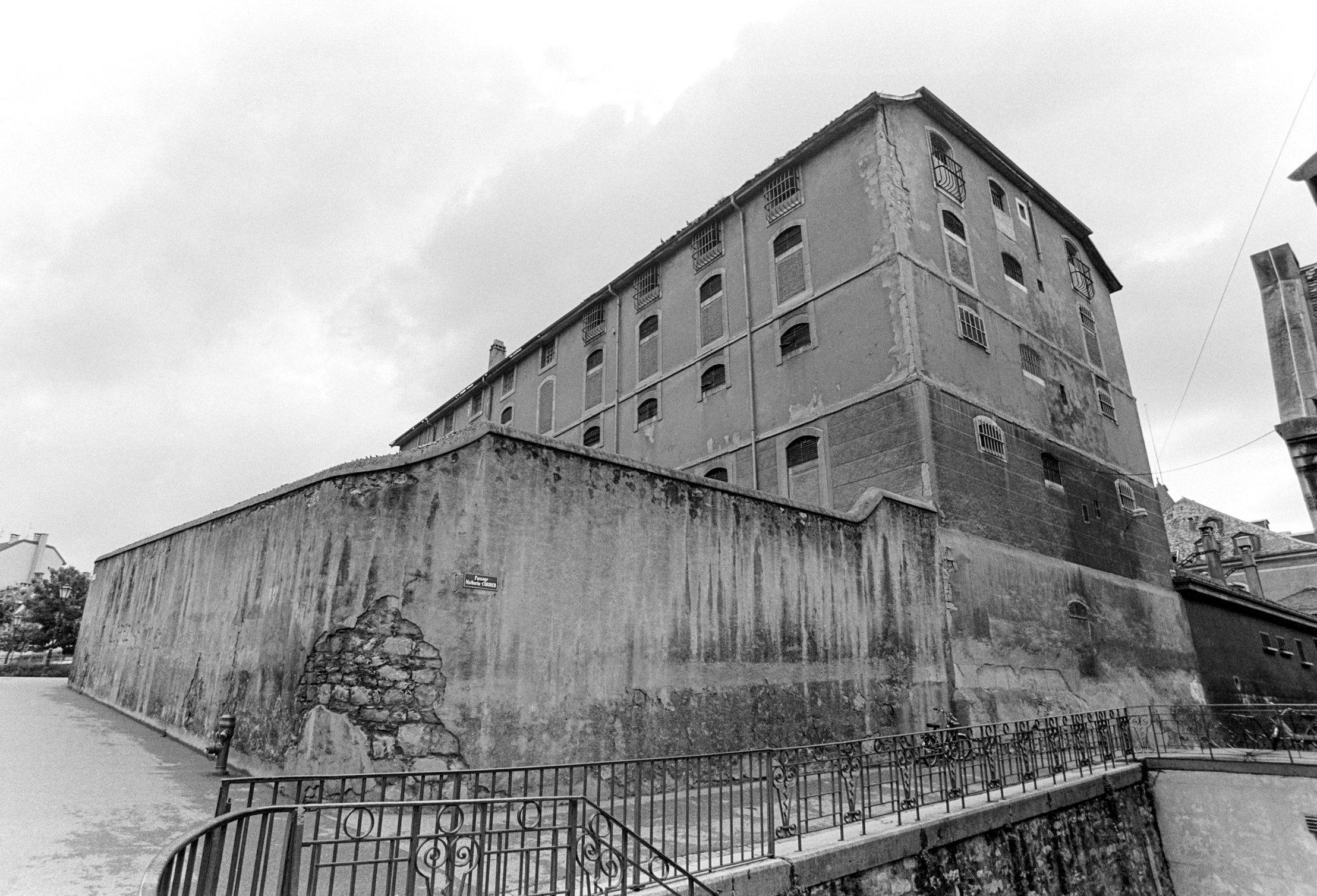 Genève, la Prison de Saint Antoine
